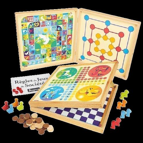 Coffrets 50 jeux traditionnels cadeaux à offrir pour la fête des grands-mères