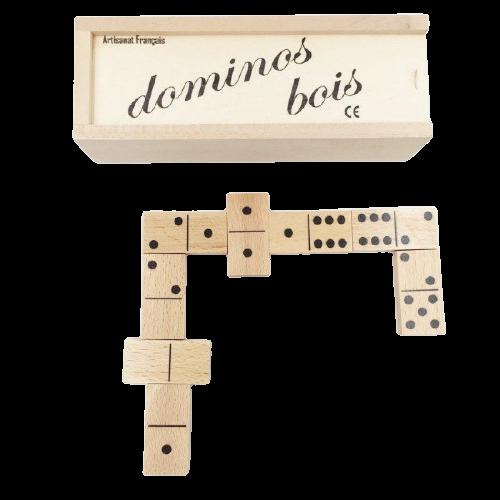 Domino en bois des artisans du Jura